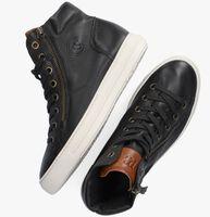 Zwarte PAUL GREEN Hoge sneaker 4024  - medium