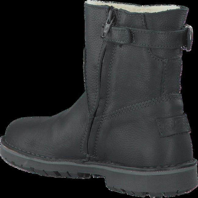 Zwarte GIGA Lange laarzen 8001  - large