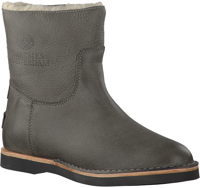 Grijze SHABBIES Enkelboots 202075  - large