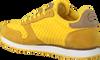 Gele WODEN Lage sneakers YDUN SUEDE MESH  - small