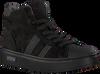 Zwarte OMODA Hoge sneaker O1543  - small