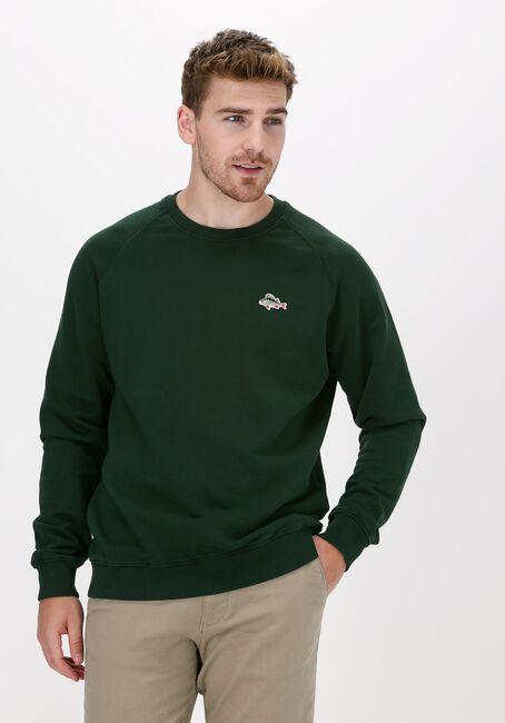 Donkergroene FORÉT Sweater ROD SWEATSHIRT - large