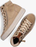 Beige PAUL GREEN Hoge sneaker 4024  - medium