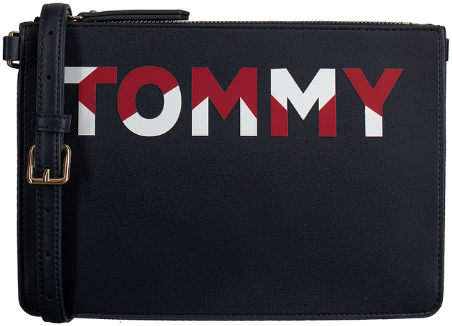 Blauwe TOMMY HILFIGER Clutch ICONIC TOMMY CROSSOVER CB - large