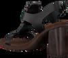 Zwarte HISPANITAS Sandalen TOGO  - small