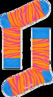 Roze HAPPY SOCKS Sokken ZEBRA - medium