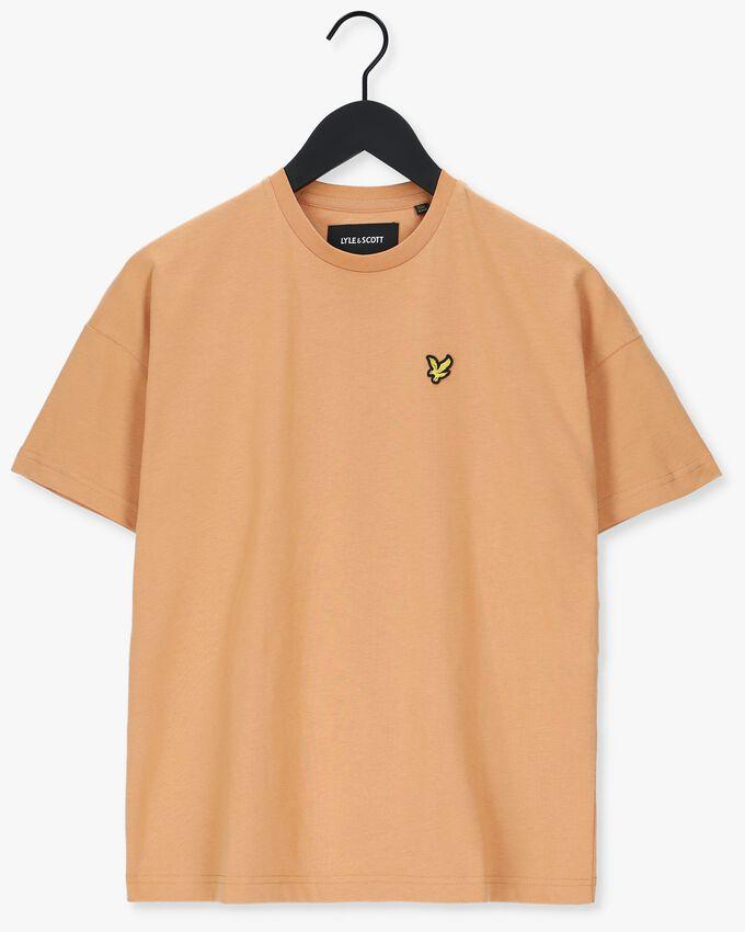 Beige LYLE & SCOTT T-shirt OVERSIZED T-SHIRT  - larger