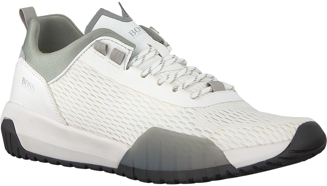 Witte BOSS Sneakers STORM RUNN  - large