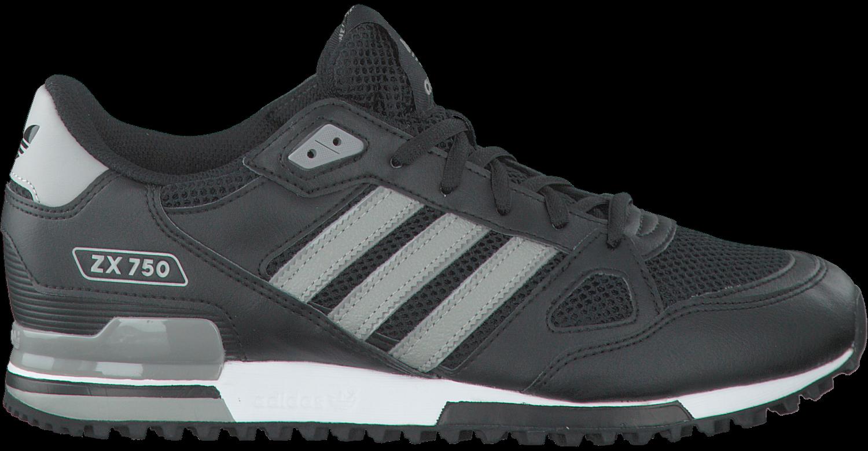 Zwarte ADIDAS Sneakers ZX 750 HEREN | Omoda