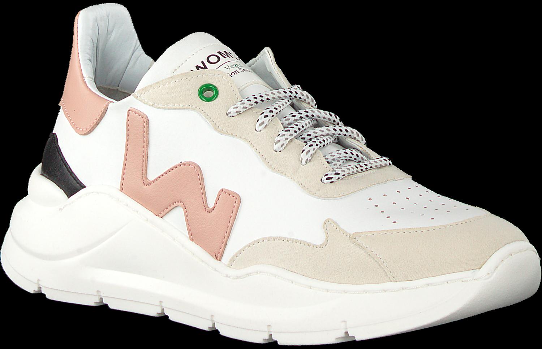 Witte WOMSH Lage sneakers VEGAN | Omoda