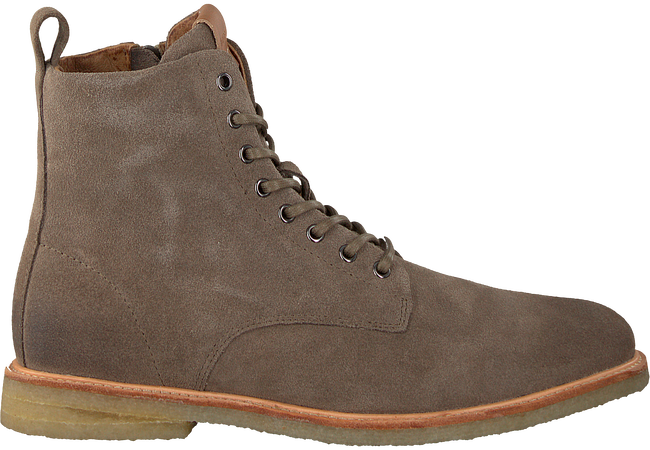 Taupe BLACKSTONE Veterschoenen QM23 - large