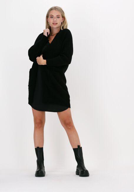 Zwarte CC HEART Mini jurk LACE SLIPDRESS - large