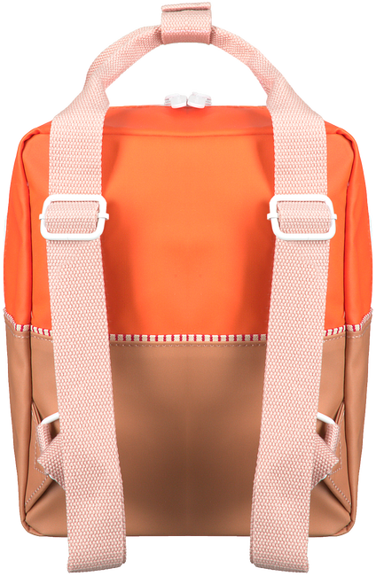 Oranje STICKY LEMON Rugtas COLOUR BLOCK SMALL  - large