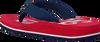 Rode TOMMY HILFIGER Slippers BASEBALL PRINT FLIP FLOP  - small