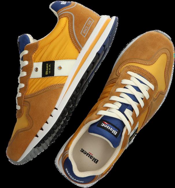 Gele BLAUER Lage sneaker QUARTZ01 - large
