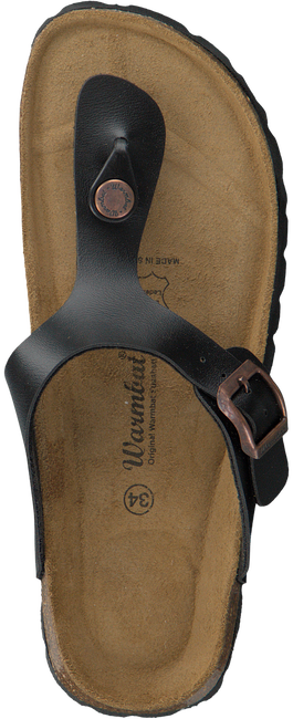 Zwarte WARMBAT Slippers 081503  - large