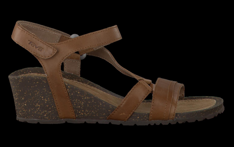 Chaussures Teva Marron Avec Des Hommes De Fermeture Velcro uT0E4n
