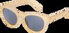 Gouden LE BIG Zonnebril NEGIN SUNGLASSES  - small