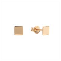 Gouden ATLITW STUDIO Oorbellen PARADE EARRINGS SQUARE - medium