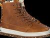 Cognac HUB Hoge sneaker BASE  - small