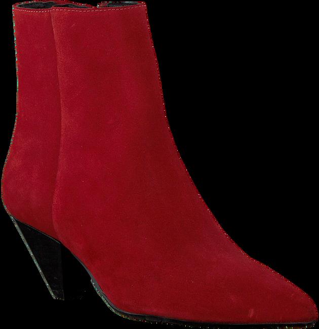 Rode BRONX Enkellaarsjes 34059 - large