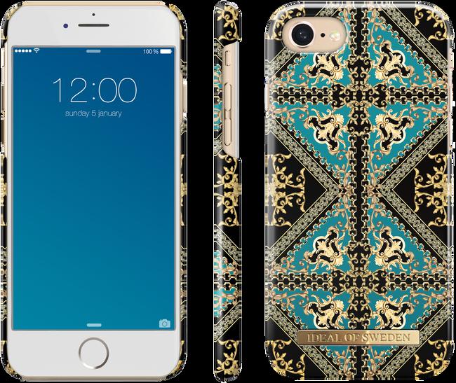 Groene IDEAL OF SWEDEN Telefoonhoesje FASHION CASE IPHONE 8/7/6/6S - large