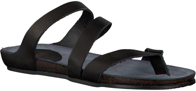 Zwarte FRED DE LA BRETONIERE Slippers 170010031  - large