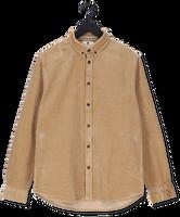 Beige ANERKJENDT Casual overhemd AKKONRAD CORD SHIRT