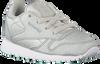 Zilveren REEBOK Sneakers CL LEATHER KIDS  - small