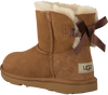 Cognac UGG Enkelboots MINI BAILEY BOW II KIDS - small