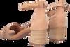 Cognac PAUL GREEN Sandalen 7788  - small