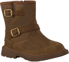 Bruine UGG Bikerboots KINZEY WEATHER TODDLER - small