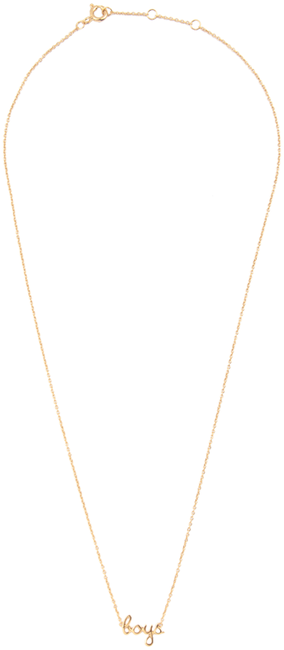 Gouden ATLITW STUDIO Ketting URBAN NECKLACE BOYS - large