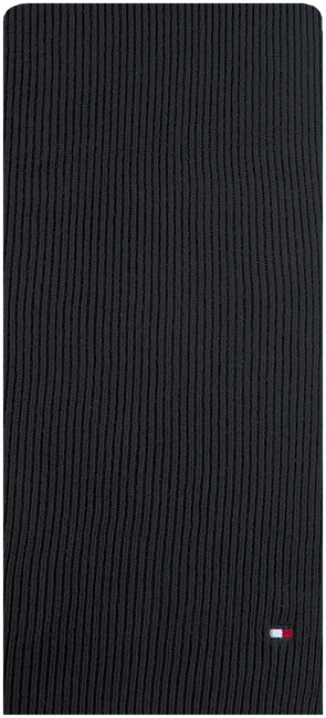 Zwarte TOMMY HILFIGER Sjaal ESSENTIAL KNIT SCARF  - large