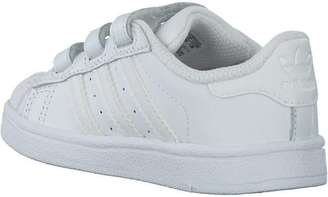 Witte ADIDAS Sneakers SUPERSTAR FOUNDATION  - large