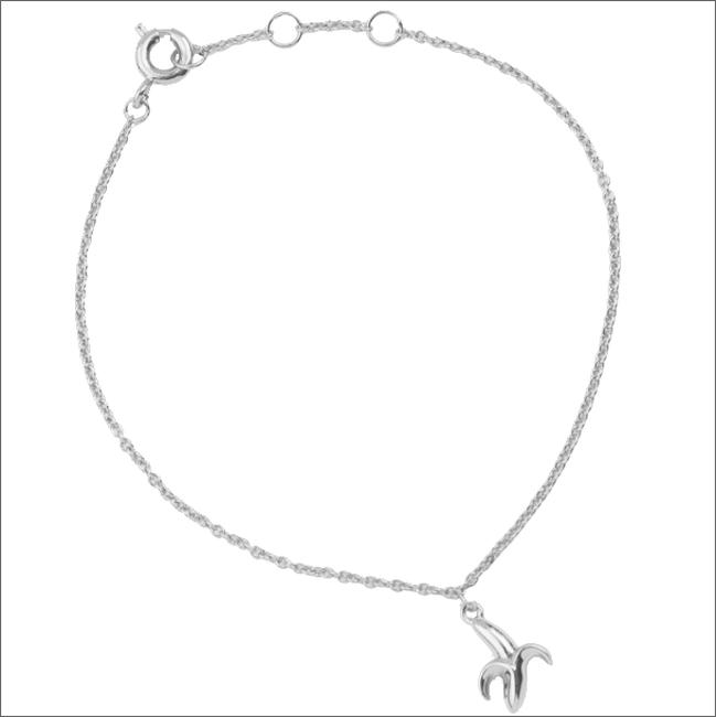Zilveren ATLITW STUDIO Armband SOUVENIR BRACELET BANANA - large
