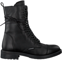 Zwarte VINGINO Veterboots LORY  - medium