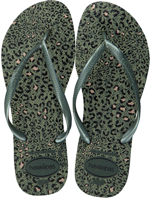 Groene HAVAIANAS Slippers SLIM ANIMALS  - large
