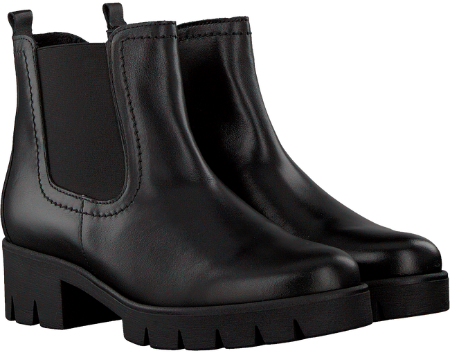 Zwarte GABOR Chelsea boots 51.710.2  - large