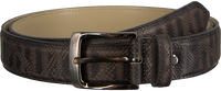 Grijze REHAB Riem BELT SNAKE STRIPES - medium