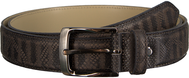 Grijze REHAB Riem BELT SNAKE STRIPES - large