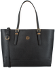 Zwarte TOMMY HILFIGER Shopper HONEY FINEGRAIN MED TOTE  - small