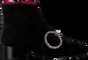 Zwarte 181 Enkellaarsjes AMAR - small