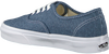 Blauwe VANS Sneakers AUTHENTIC WMN - small