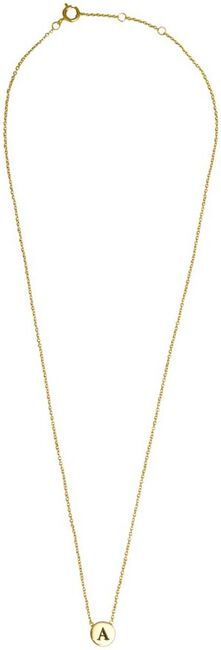 ATLITW STUDIO KETTING CHARACTER NECKLACE LETTER GOLD - large