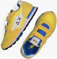 Gele SUN68 Lage sneakers BOYS NIKI NYLON SOLID  - medium