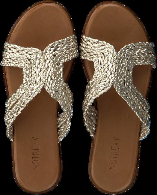 Gouden NOTRE-V Slippers 443018  - large