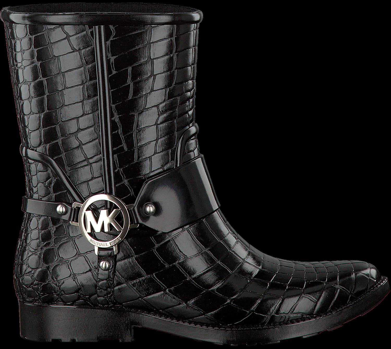 e3cd32e0153 Zwarte MICHAEL KORS Lange laarzen MK CROCO RAINBOOTIE - large. Next