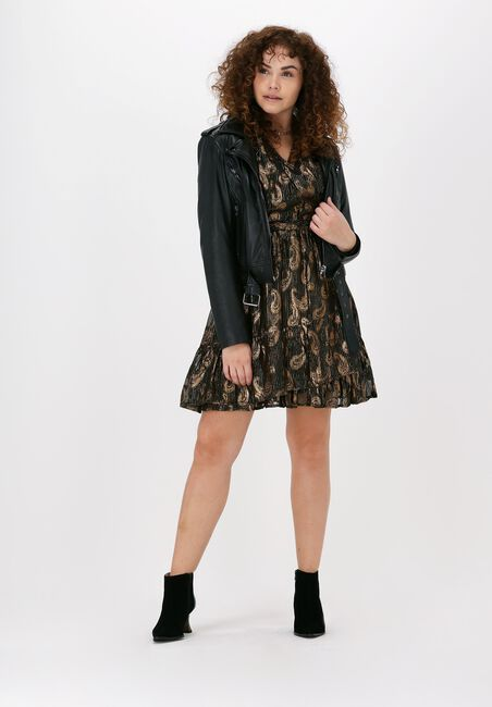 Zwarte SUNCOO Mini jurk ROBE CAMELIA  - large