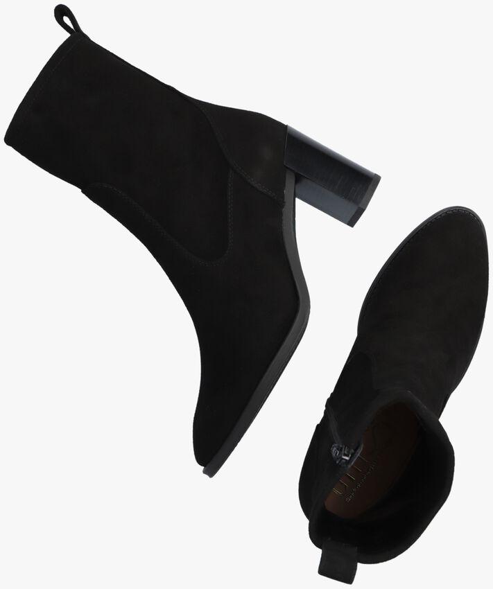 Zwarte UNISA Enkellaarsjes UNTIL  - larger